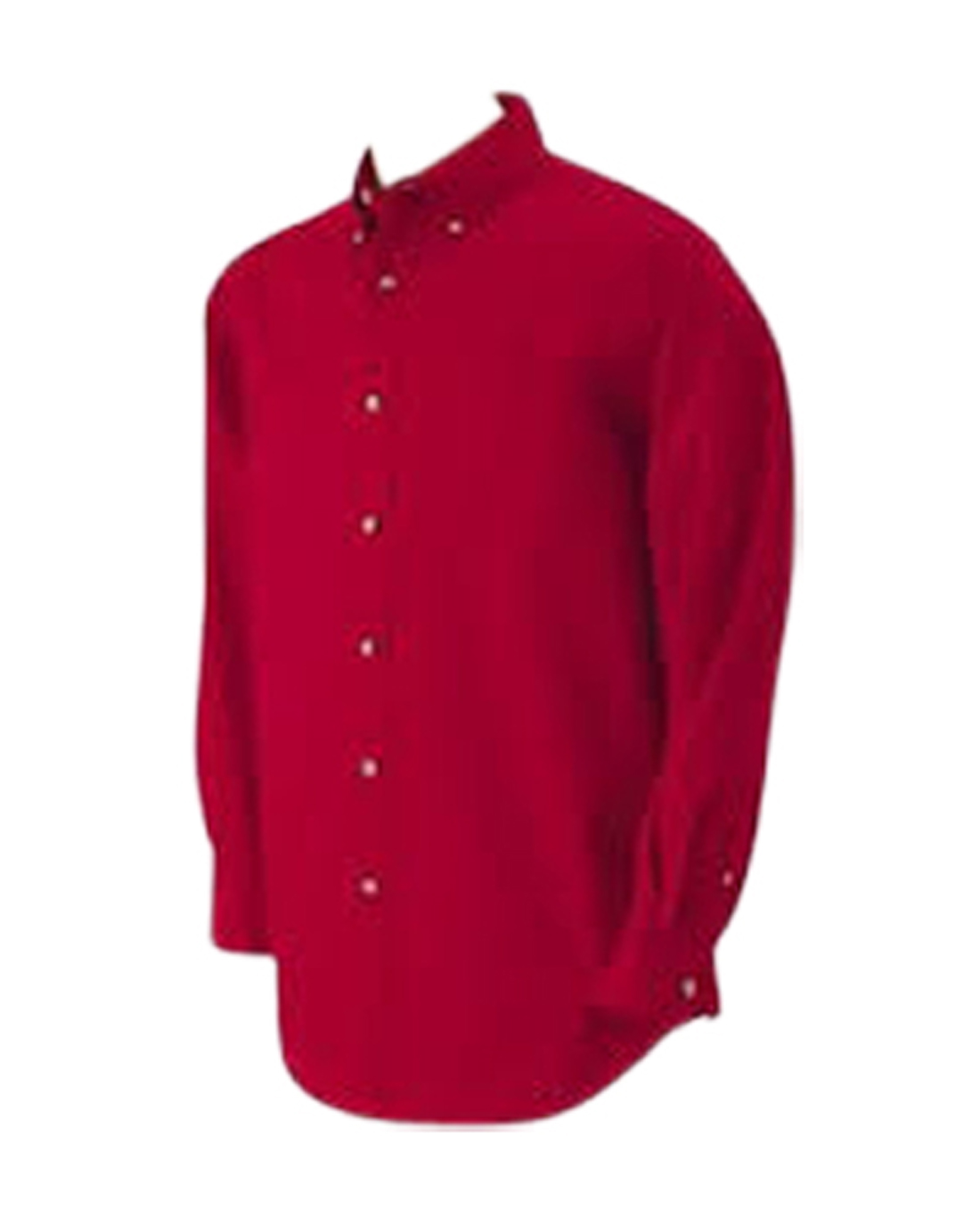 Men's Light Weight Long Sleeve Twill Shirt - code 55423