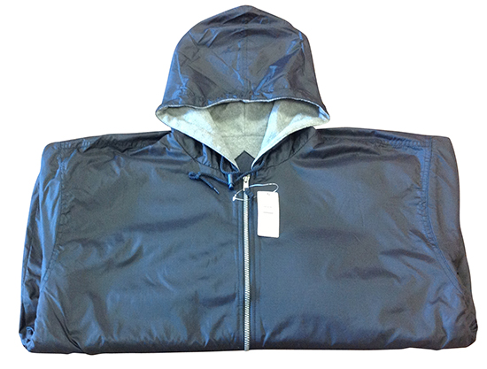 RIPSTOP NYLON JACKET WITH HOOD - Code 8827