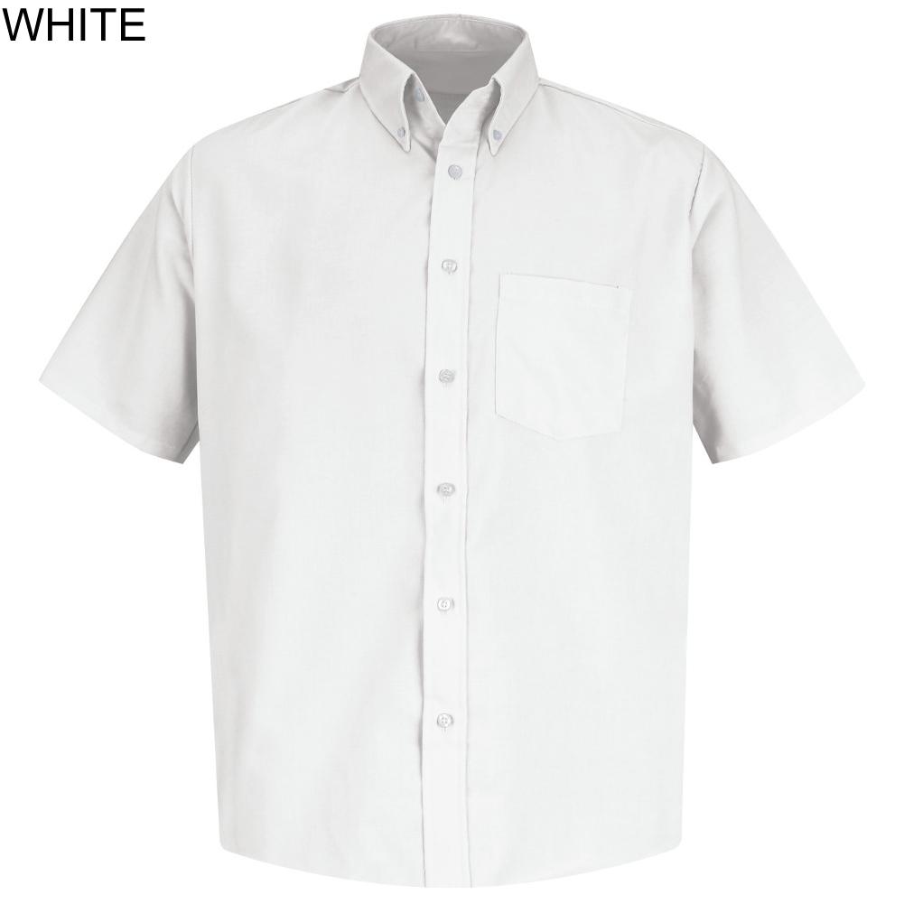 Mens Short Sleeve Oxford Dress Shirt Code 33805 33805 1000